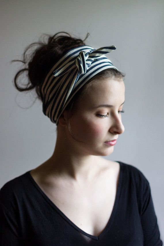 This wide headband for women is approx. 55 long and 2 1/2 wide. It can be machine washed and we would suggest you line dry it. Cool iron if needed.  This headwrap is handmade and designed by the Sassy Sparrow team out of cotton and is a fun and stylish way to pull your hair back. Its simple and easy to tie and gives you that definite throwback flair while still being modern and chic.  No matter what the length of your hair this will look fabulous on you. You can wrap the headwrap around ...
