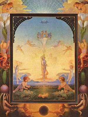 The Morning, 1808 by Philipp Otto Runge - posted here to remind me to investigate this artist more thoroughly.