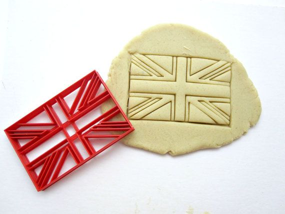 Union Jack Cookie Cutter/Multi-Size by Francesca4me on Etsy