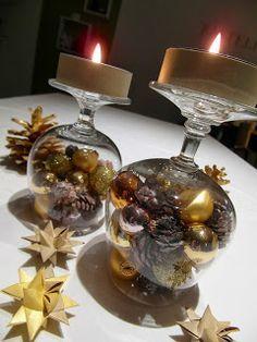 Mein Haus, mein Garten, mein Hobby.: weihnachtliche Tischdeko