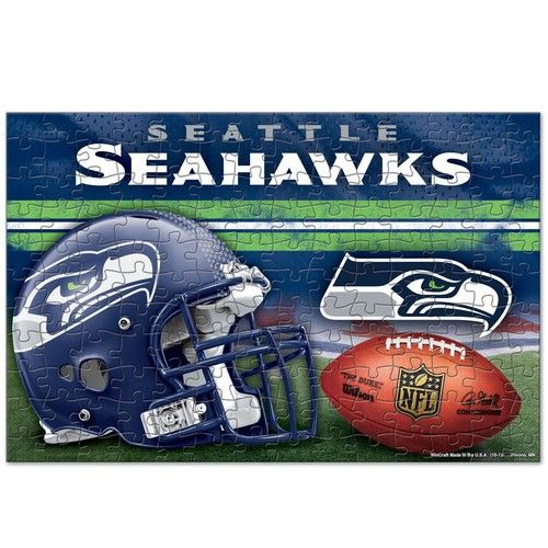 Seattle Seahawks Team Puzzle - 150 Pieces