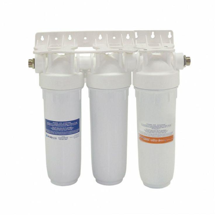 Φίλτρο νερού κάτω πάγκου Atlas Filtri DP TRIO