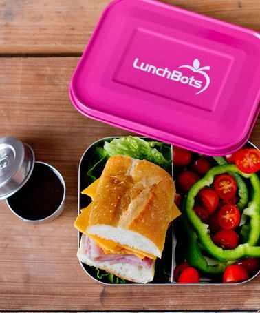 Duo Divided Lunch Container  #zulily *We lvoe these for the kids lunches...