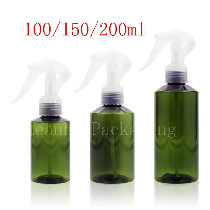 100ml 150ml 200ml Green Trigger Spray Pump Bottle  Watering  DIY Hair Container ,Cosmetic Packaging , Perfume Bottle Sprayer #Affiliate
