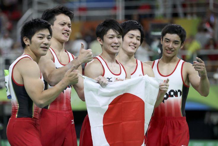【リオ五輪】体操男子団体、悲願の金メダル #体操 #リオ五輪