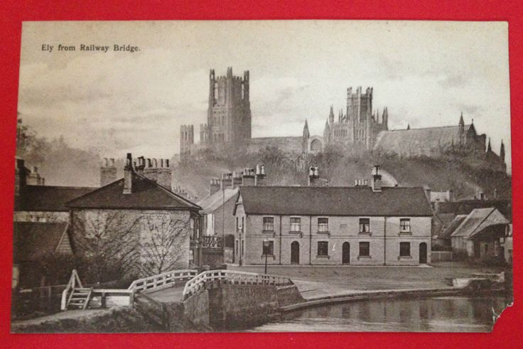 Cambridgeshire - Ely from Railway Bridge, Pre-1918 PC Unused | eBay