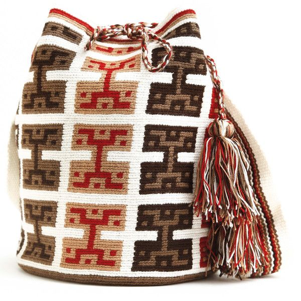Wayuu Crochet - Colombia, Venezuela - Wayuu people. Crochet bag.