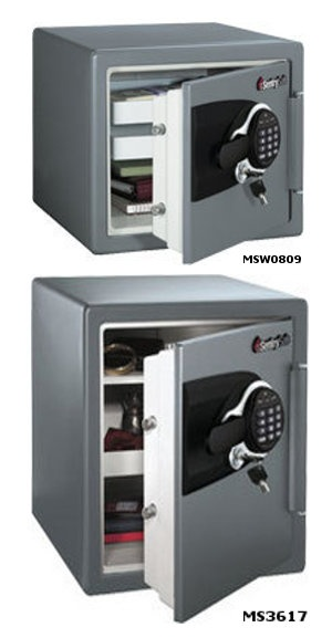 Sentry MS Range Fire / Water Safe with Electronic and Tubular Key lock -  MSW0809,