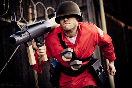 Best TF2 Soldier cosplay #TF2 #cosplay