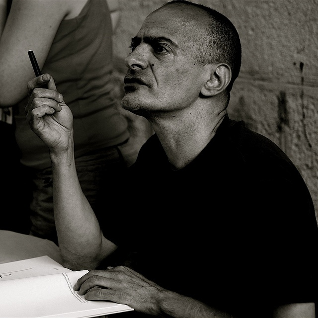 Le photographe Antoine d'Agata © Hubert Marot by hub2phot, via Flickr