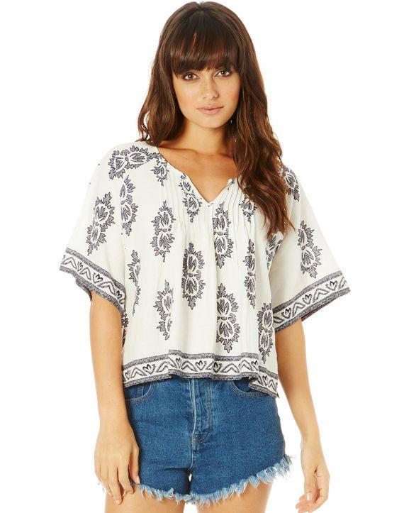 Linen Oversized Blouse