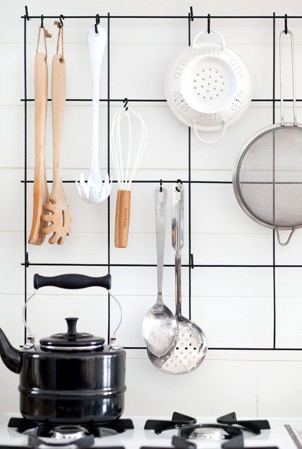 Via Apartment 34 | Nordic Kitchen | Minimal | Black White Wood