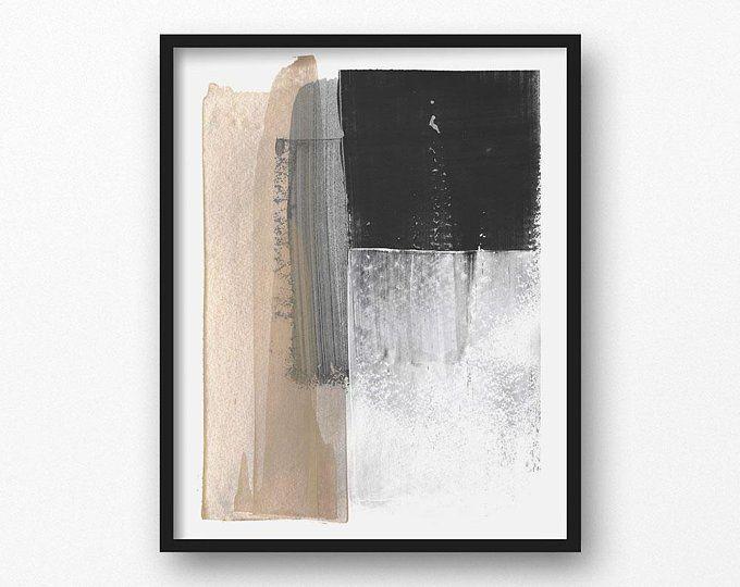 Neutral Abstract Art Printable Abstract Art Neutral Wall Etsy Abstract Painting Print Grey Wall Art Minimalist Wall Art