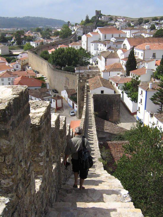 Obidos wall obidos lisbon region portugal portugal for Porte 7th sea