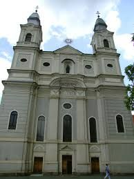 CSIKSOMLYÓ Romanocatolic church Transilvania