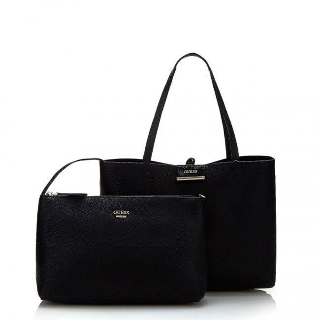 Guess Bobbi reversible shopping bag EB6422150 - #guess #bags #handbags #fashion #glamour #borse #women #donne #donna #moda #stile