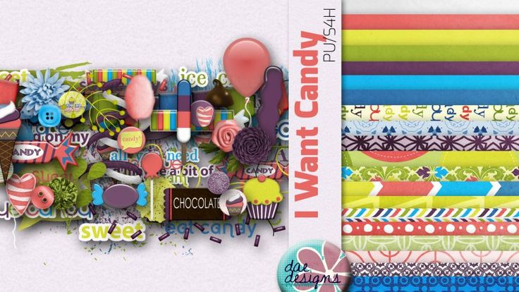 I Want Candy by Dae Designs
