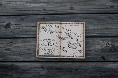 coral sea islands maps