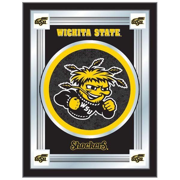 "Wichita State Shockers 28"" x 19"" Logo Mirror - $69.99"