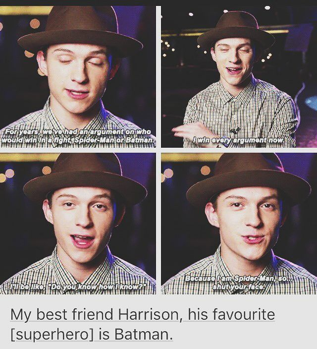 I Just Love Tom and Haz #FriendshipGoals
