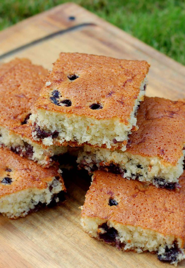 Körsbärskaka | Söta saker En enkel kaka för alla trädgårdens bär!