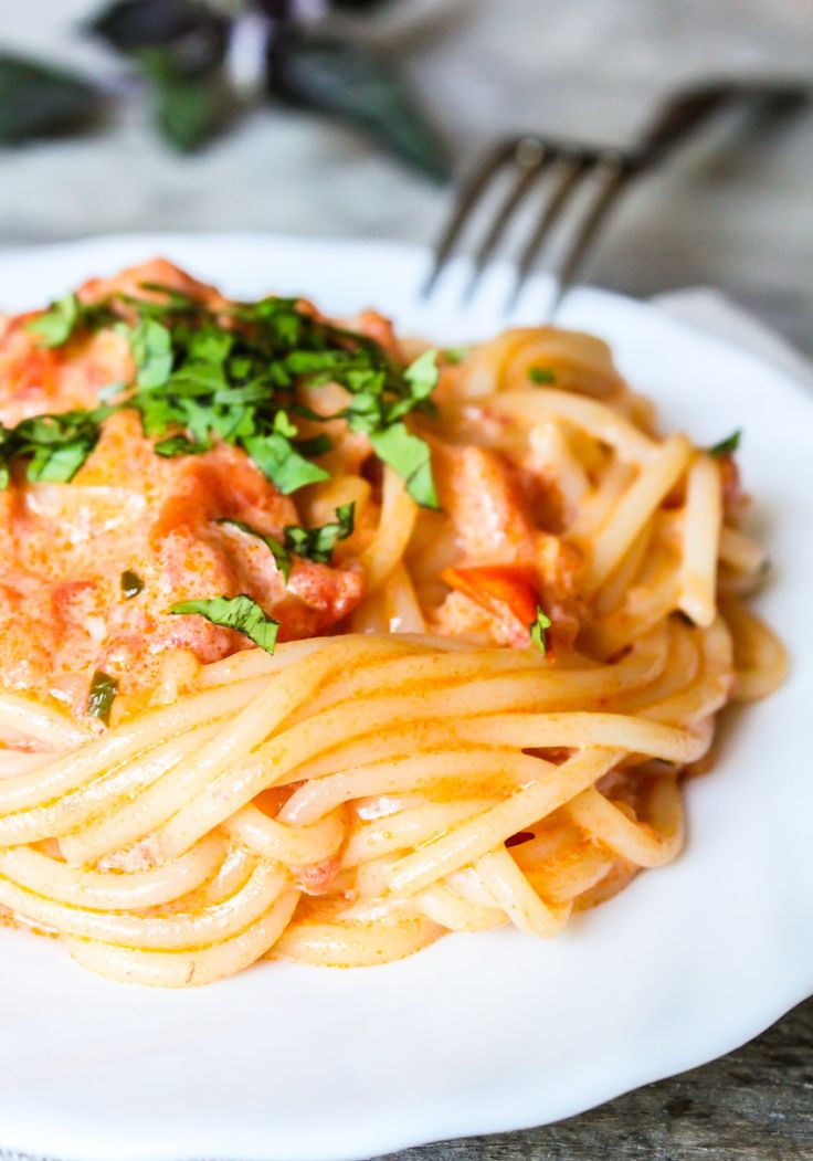 """""""You Won't Be Single for Long"""" Vodka Cream Pasta   – Delicious Dinner Ideas"""