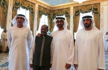 Sheikh Mohammed thanks employee for 40-years' service at Crown Prince Court