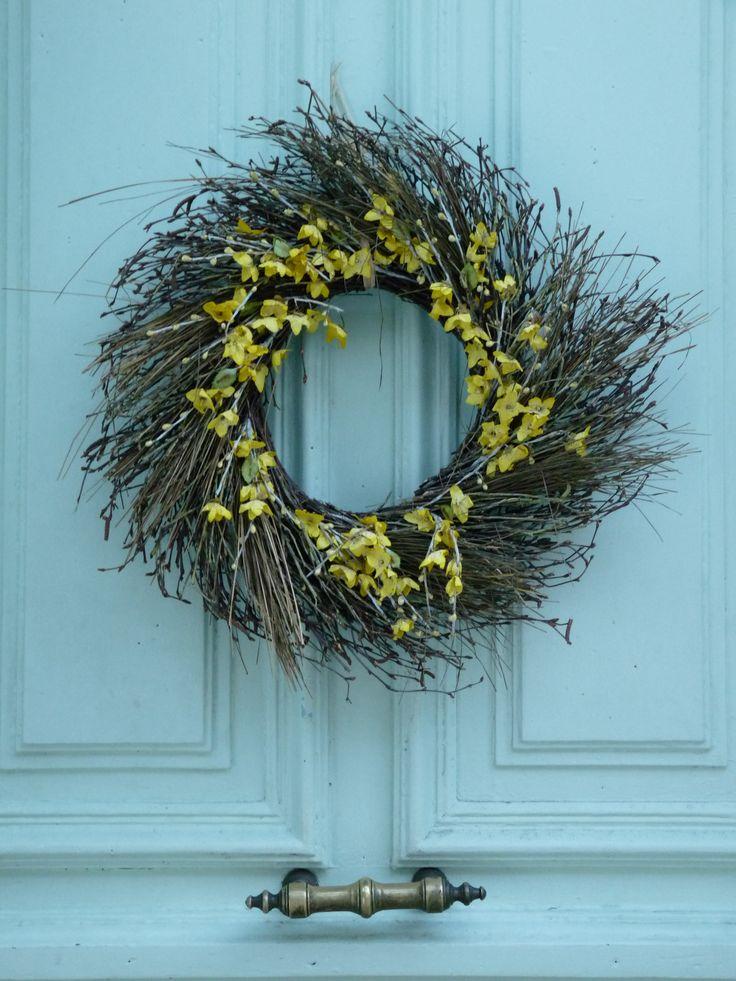 декоративные венки на дверь - Блог HomeLoveka.ru