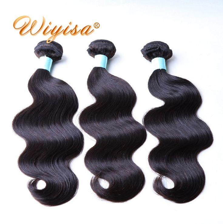 High feedback direct factory 100 percent human double drawn virgin remy hair bundles