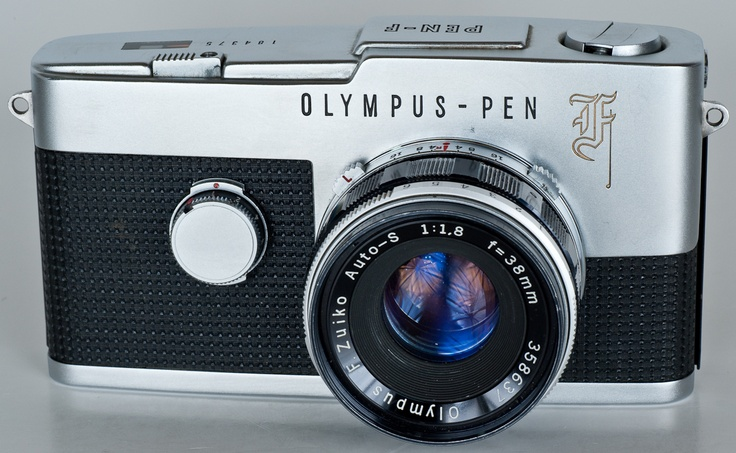 Olympus Pen F which was my first SLR
