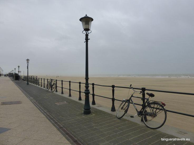 By the sea, like here in Scheveningen, The Hague. But not on a windy day (the sand gets in your eyes)