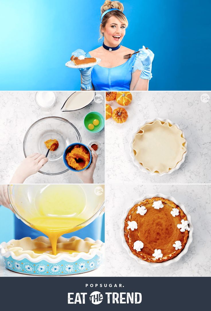 Quick & Easy Food Recipes at Hifow.com      When the clock strikes midnight and your carriage turns again into a pumpkin, what is a girl to do? Make some pumpkin pie, of program! Enable Cinderella display you how to make this tasty recipe with a minor assist from her fairy godmother's...