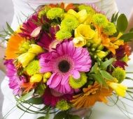 Colorful Wedding Bouquets = beautiful!