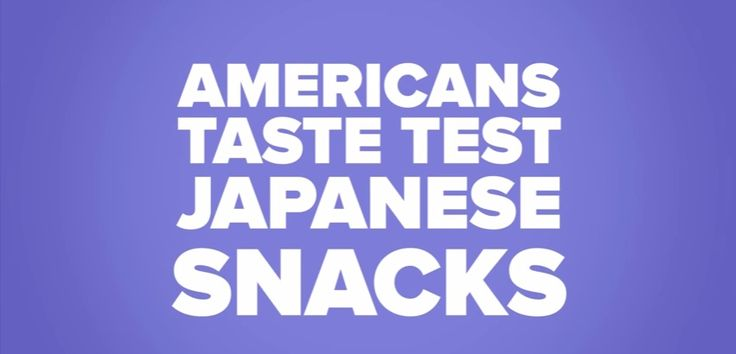 Americans, Do You Eat Japanese Candies? A Trending Video in Youtube