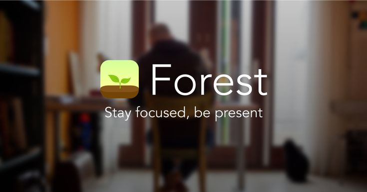 Forest is an app helping you stay away from your smartphone and stay focused on your work.