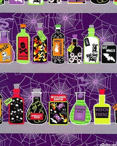 Spooktacular II - Witch's Spice Cupboard - Dk Purple