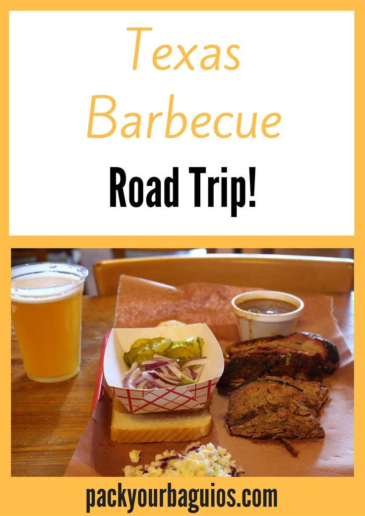 Texas | barbecue | road trip | Riverport Barbecue | Stanley's Famous Pit Bar-B-Que | Taylor's Smokehouse | Rudy's Country Store & Bar-b-que | Busbee's Bar-B-Que | Black's Barbecue