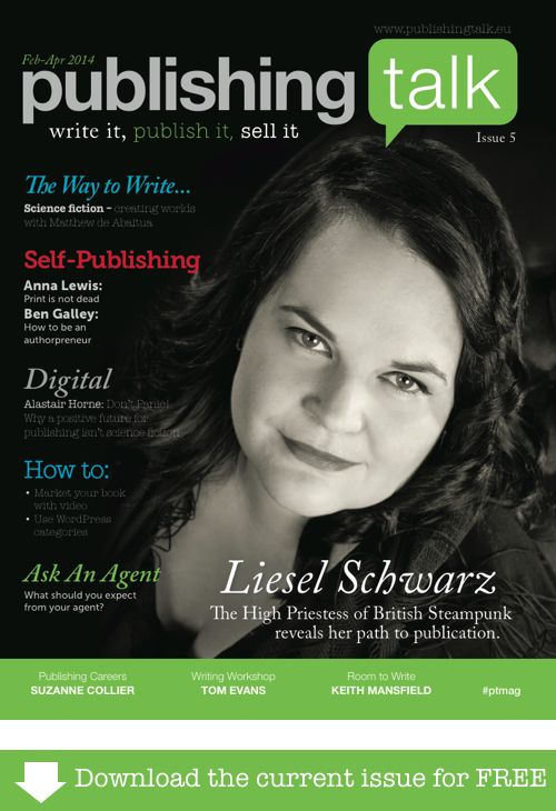 Publishing Talk Magazine issue 5 - #sciencefiction and fantasy - free download.