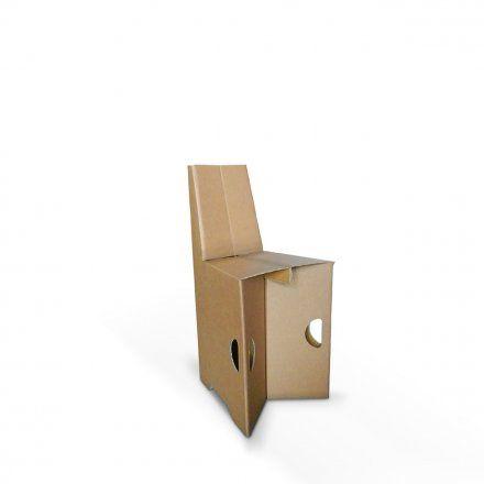 Carton Factory Sedia pieghevole Paperina Lovepromo