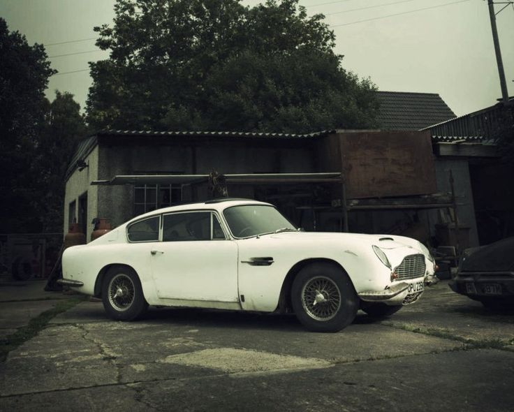 1967 Aston Martin DB6 Barn Find