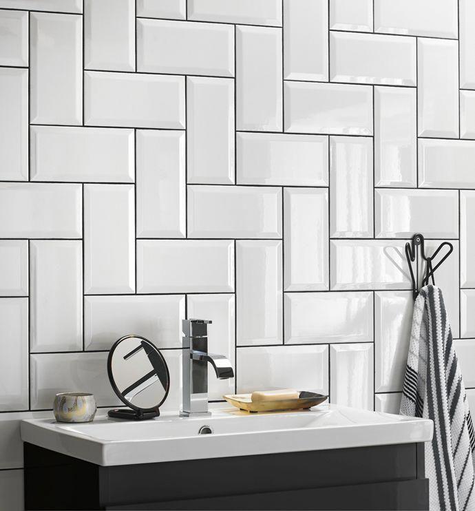 Tile Design Ideas Tile Repair Grout Pen Colours How To Clean Bathroom Grout White Bathroom Tiles White Bathroom Interior Patterned Bathroom Tiles