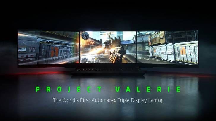 Razerın Yeni 3 Ekranlı Aşmış Dizüstü Bilgisayarı Project Valerie İnanılmaz Bir Oyun Deneyimi Vadediyor http://goster.co/razerin-yeni-3-ekranli-asmis-dizustu-bilgisayari-project-valerie-inanilmaz-bir-oyun-deneyimi-vadediyor