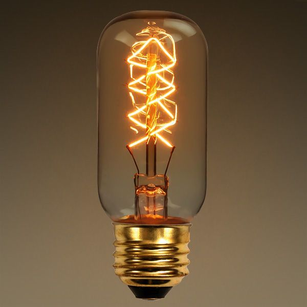25 Watt Vintage Antique Light Bulb T12 Antique Light Bulbs Vintage Light Bulbs Light Bulb