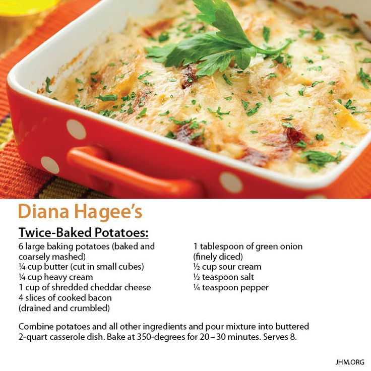 64 best dianas dishes images on pinterest diana 350 degrees and this twice baked potatoes recipe is also a great addition to your holiday meal plan forumfinder Image collections