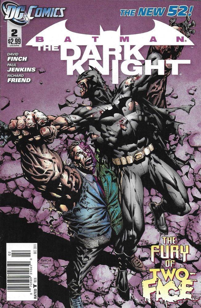 DC Batman The Dark Knight comic issue 2 The New 52
