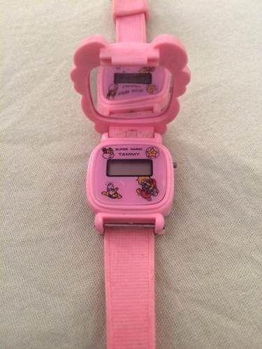 Relógio Infantil Dos Anos 80 - R$ 100,00 em Mercado Livre