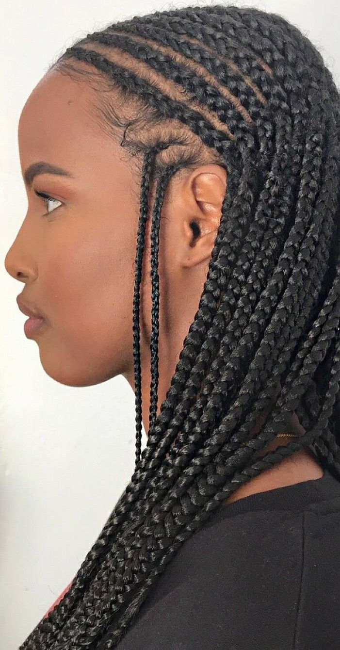 Pin by Shayla on CORNROW QUEEN in 2020 (With images ...
