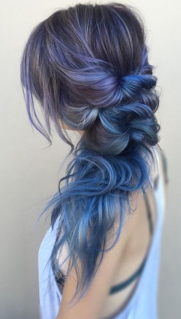 Farbenvielfalt: Coloured Ombre – Frisuren