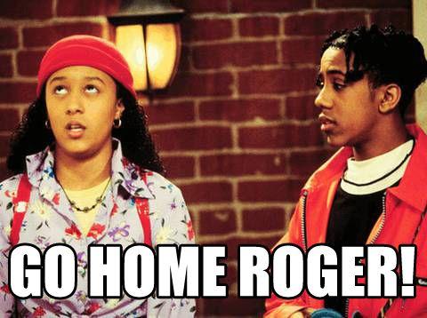 Throwback Thursday: Go Home Roger!