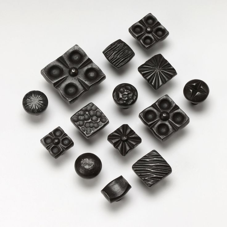 New Black Iron Cabinet Hardware
